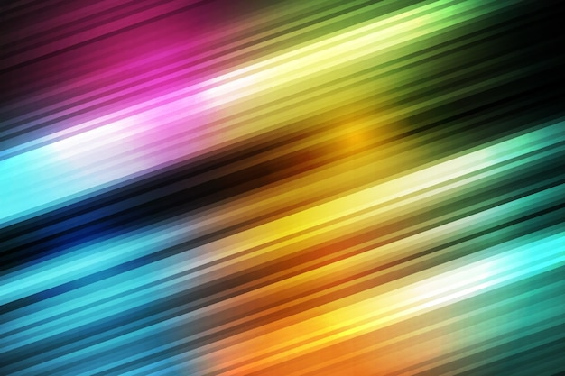 グラデーションのカラフルなスピードモーションの背景