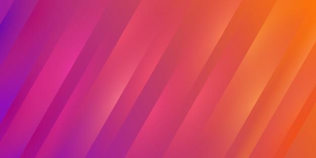 グラデーションのカラフルな黄色と紫のストライプテクスチャ背景