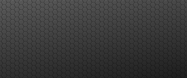 Gradient convex hexagons background