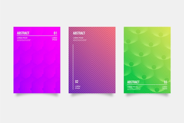 Gradient cover collection