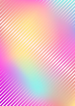 Gradient cover template. minimal trendy layout with halftone. futuristic gradient cover template for banner, presentation and brochure. minimalistic colorful shapes. abstract business illustration