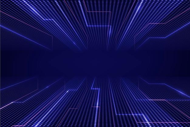 Gradient cyber futuristic background