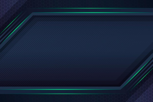 Gradient cyber technology background