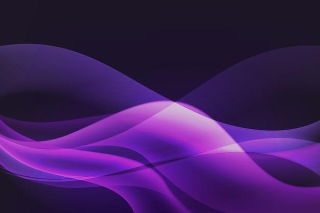 グラデーションの暗い波状の背景