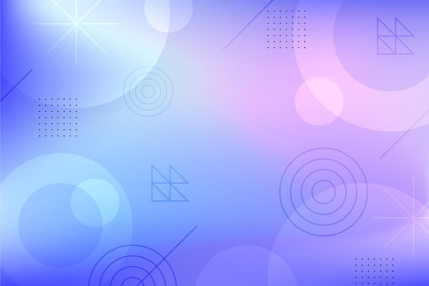 Gradient design of abstract background