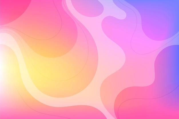 Градиентный дизайн абстрактного фона