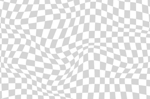 그라데이션 왜곡 체크 무늬 배경