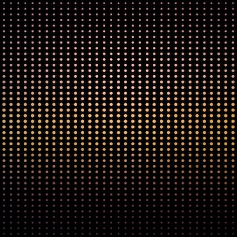 Gradient dots pattern. abstract geometric background. disco and elegant style illustration