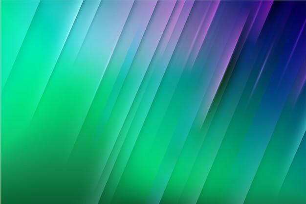 Градиентный фон динамических линий Premium векторы