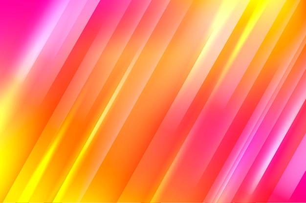 Sfondo di linee dinamiche sfumate