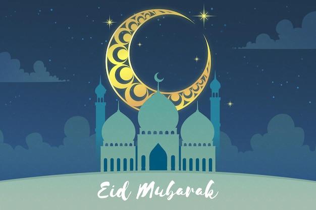 Gradiente eid al-fitr illustrazione
