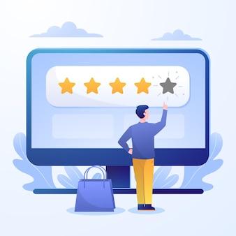 Gradient feedback concept illustration