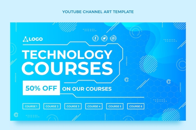 Gradient fluid technology course youtube channel