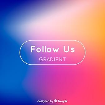 Gradient follow us background