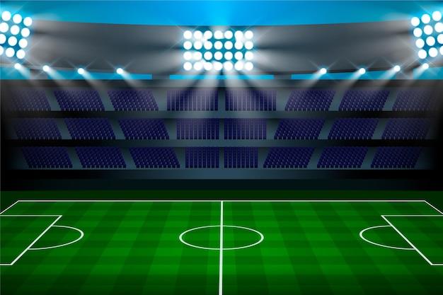 Gradient football field background