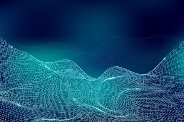 연결 개념 그라데이션 미래 배경
