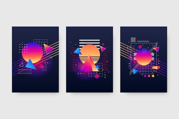 그라데이션 미래 커버 컬렉션