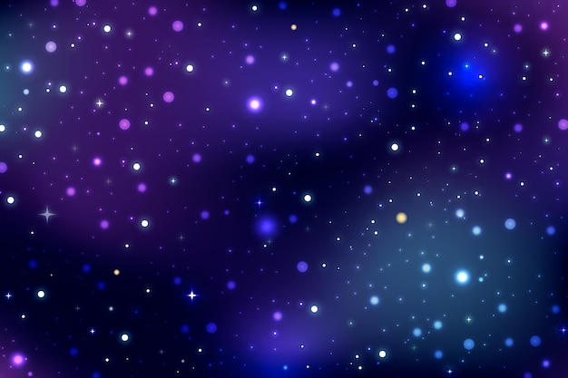 Gradient galaxy background