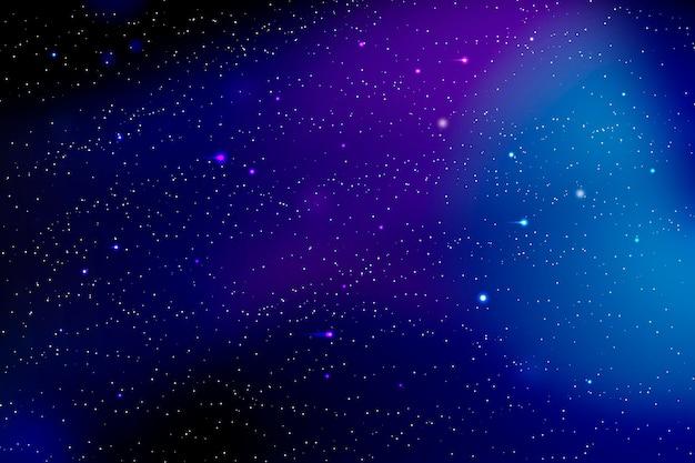Градиентный фон галактики