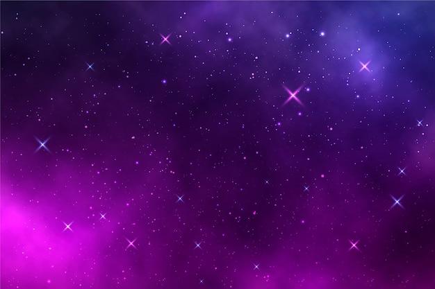 Sfondo sfumato della galassia
