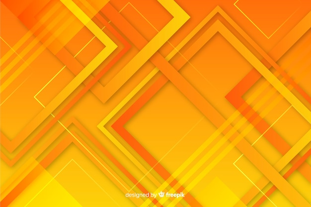 Gradient geoemtric shapes background
