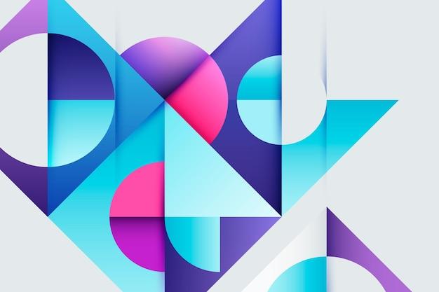 Sfondo geometrico sfumato