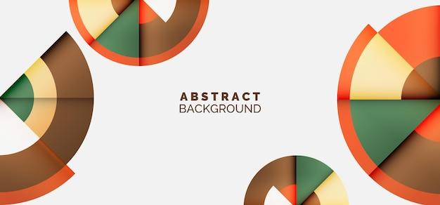Gradient geometric background