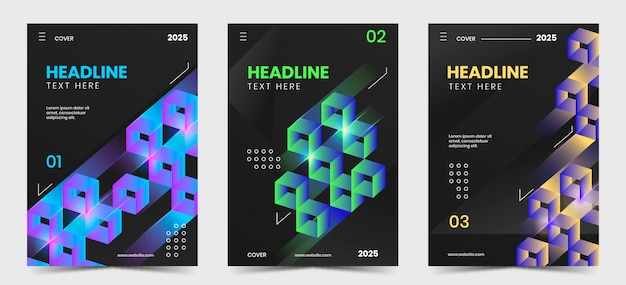 Gradient geometric cover collection