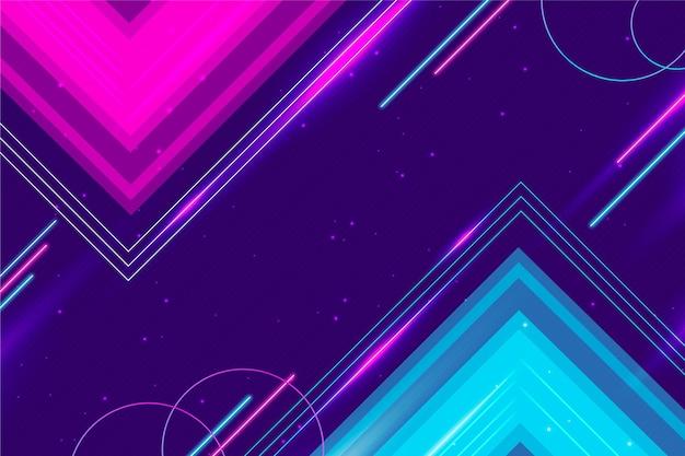 Sfondo futuristico geometrico sfumato