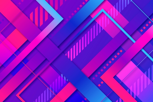 Gradient geometric models background