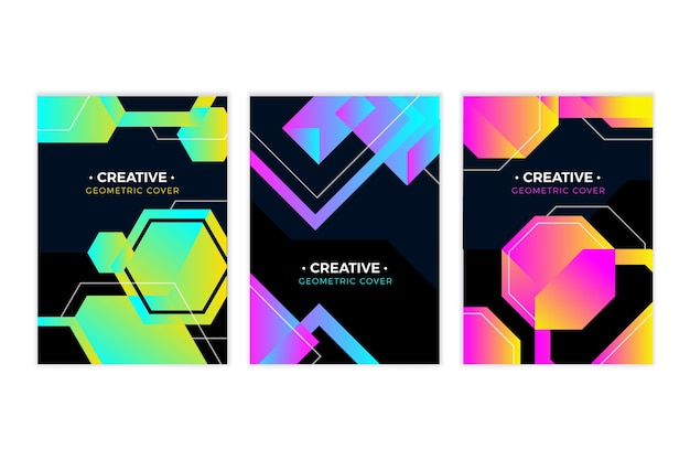 Gradient geometric models covers
