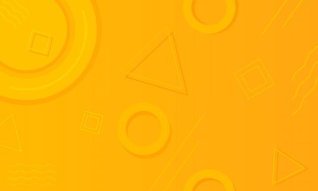 Gradient geometric shape background illustration