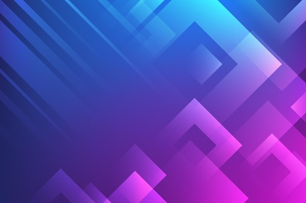 Gradient geometric wallpaper