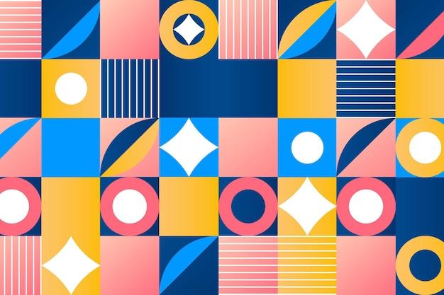 Gradientgeometric wallpaper