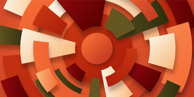 Gradient geometric wallpaper