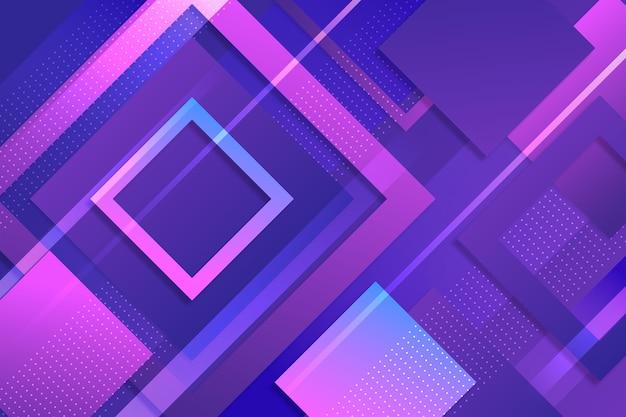 Carta da parati geometrica sfumata