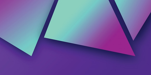Gradient geometric with abstract background
