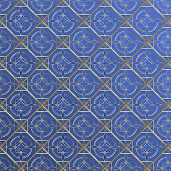 그라데이션 황금 아랍어 패턴 무료 벡터