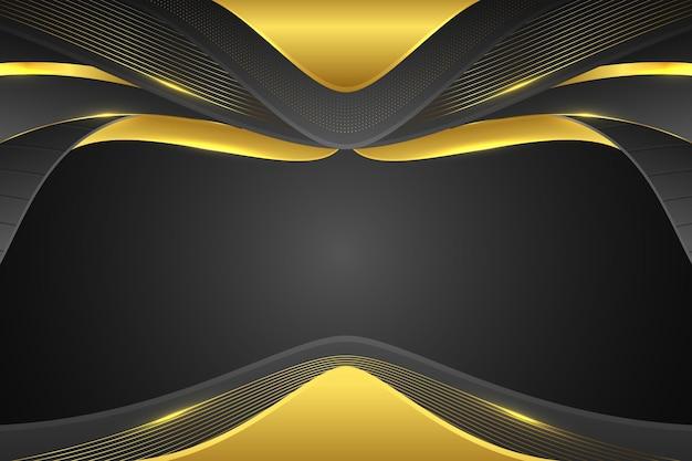 Disegno di sfondo dorato sfumato