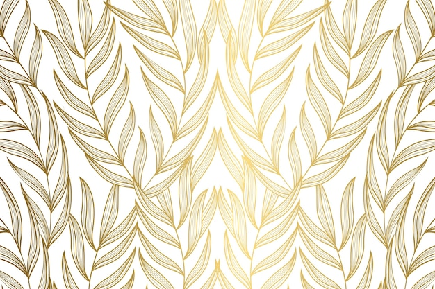 Gradient golden linear background