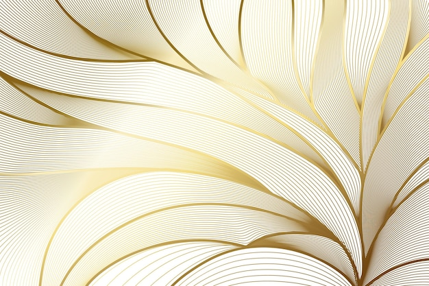 그라데이션 황금 선형 배경