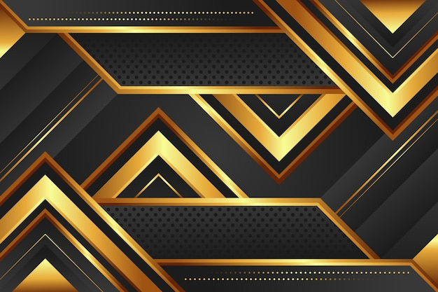 삼각형 그라데이션 황금 럭셔리 배경