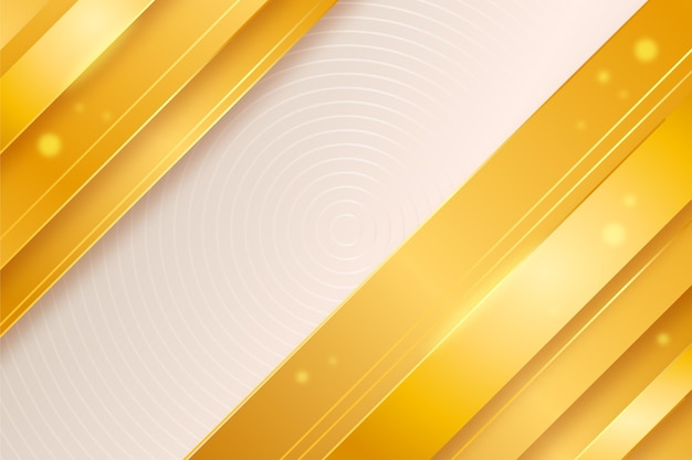 Gradient golden luxury background