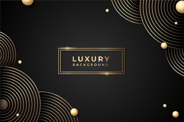 グラデーションの黄金の贅沢な背景 Premiumベクター