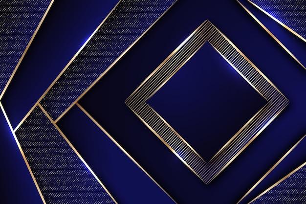 グラデーションの黄金の贅沢な背景