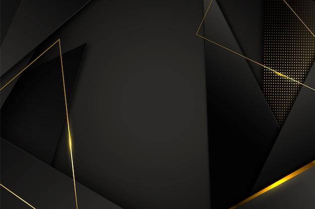 Gradient golden luxury background Free Vector