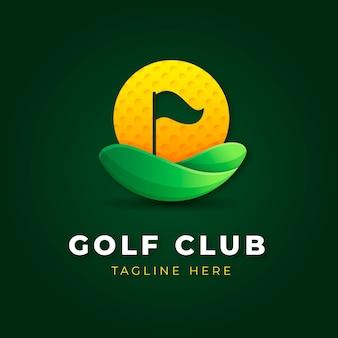 Gradient golf logo