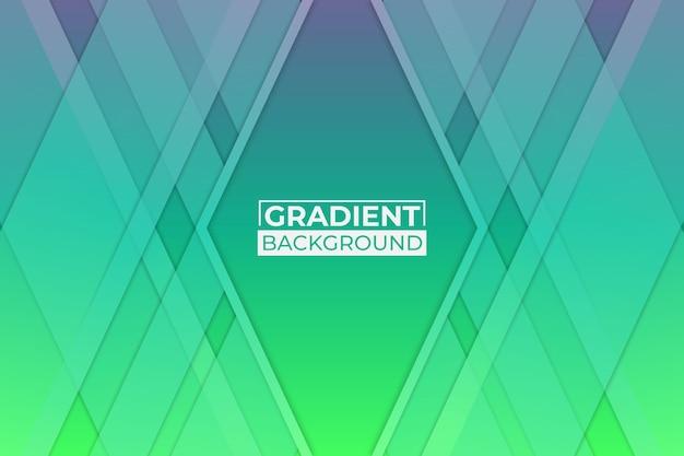 グラデーションの緑と紫の背景
