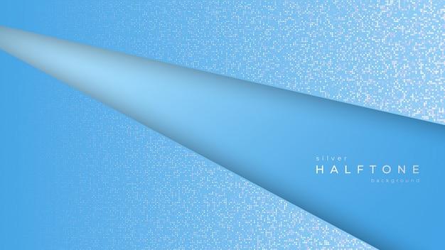 グラデーションハーフトーン背景斜めホワイトドット