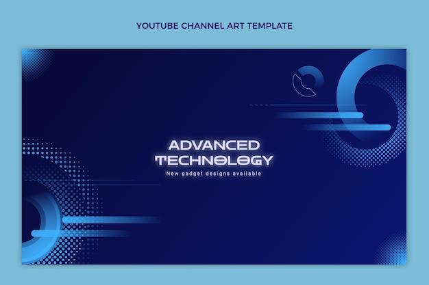 그라데이션 하프톤 기술 유튜브 채널